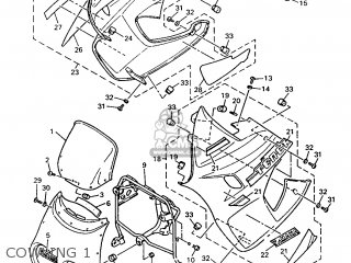 Yamaha XTZ660 1996 4MY3 GERMANY 264MY-332G1 parts lists