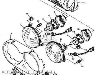 Yamaha XTZ660 1996 4NV2 AUSTRIA 264MY-300E1 parts lists