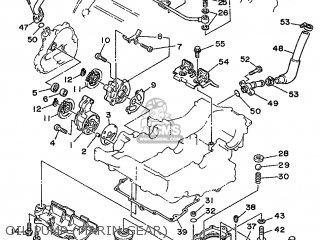 Yamaha XTZ750 1989 3LD1 FRANCE 293LD-351F2 parts lists and