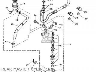 Yamaha XTZ750 1989 3LD1 GERMANY 293LD-332G2 parts lists
