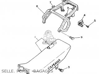 Yamaha XTZ750 1989 3LD2 FRANCE 293LD-351F2 parts lists and