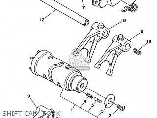 Yamaha XTZ750 1990 3LD3 EUROPE 203LD-300E2 parts lists and