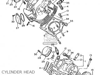 Yamaha XV1000 1986 2AE EUROPE 262AE-300E1 parts lists and