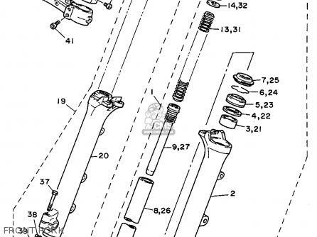 Yamaha Xv1100 1995 (s) Usa parts list partsmanual partsfiche