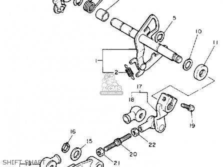 Yamaha XV1100 VIRAGO 1989 (K) USA parts lists and schematics