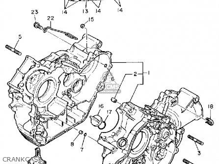 Yamaha Xv1100 Virago 1990 (l) Usa parts list partsmanual