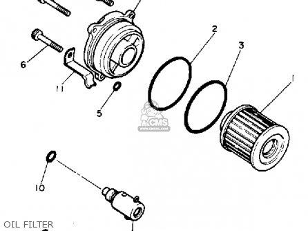 Yamaha Xv1100 Virago 1991 (m) Usa parts list partsmanual