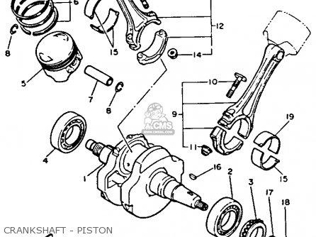 Yamaha Xv1100 Virago 1992 (n) Usa parts list partsmanual