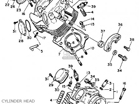 Yamaha XV1100 VIRAGO 1993 (P) USA parts lists and schematics
