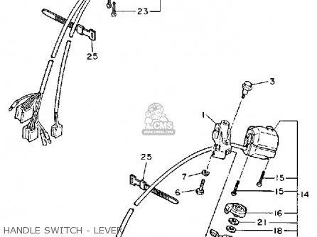 Yamaha Xv1100 W Virago 1989 parts list partsmanual partsfiche
