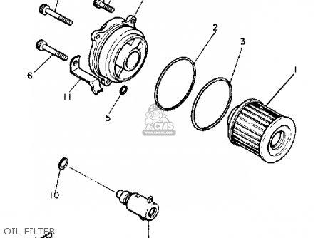 Yamaha Xv1100 Wc Virago 1989 parts list partsmanual partsfiche