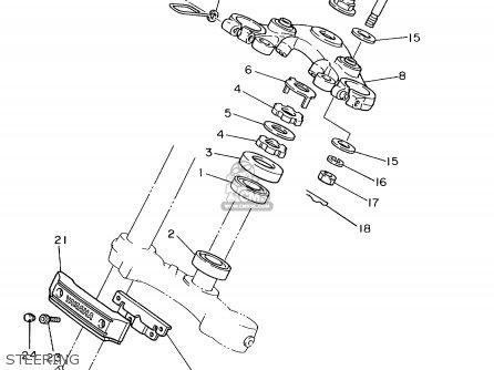 Yamaha XV1100 XV1100C 1999 (X) USA CALIFORNIA parts lists