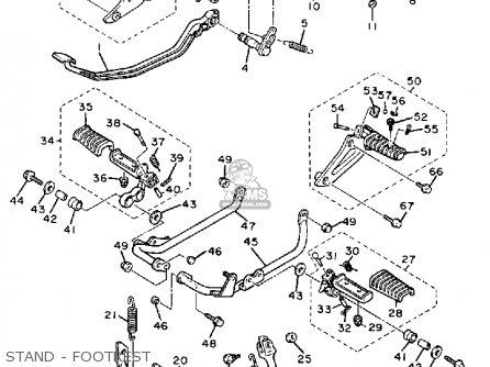1988 Yamaha Motorcycle Models, 1988, Free Engine Image For