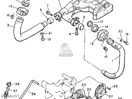 Yamaha XV1100C VIRAGO 1989 (K) CALIFORNIA parts lists and