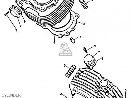 Yamaha XV1100C VIRAGO 1992 (N) CALIFORNIA parts lists and