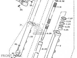 Yamaha Xv1100se 1988 3ef1 Switzerland 283ef-361e1 parts