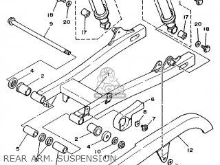 Yamaha XV125 1999 5AJ8 FRANCE 295AJ-351F1 parts lists and