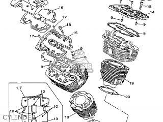 Yamaha Xv1600a 1999 5ja1 France 295ja-351f1 parts list