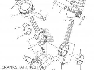 Yamaha XV1600A 2001 5JA8 SWEDEN 115JA-300E1 parts lists