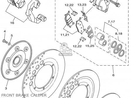 Yamaha Xv1600at Xv1600atc Road Star Silverado 2002 (2) Usa
