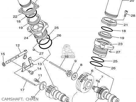 Yamaha Xv1600atp/atpc 2002 parts list partsmanual partsfiche