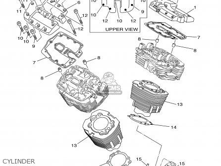Yamaha XV1700PCB XV1700PCCB ROAD STAR WARRIOR 2003 (3) USA