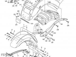 Yamaha Xv1900a 2006 5c41 Belgium 1e5c4-300e1 parts list