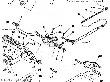 1993 Virago 750 Wiring Diagram Virago 920 Wiring-Diagram