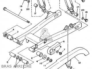 Yamaha XV250 1996 3LSB FRANCE 263LS-351F1 parts lists and