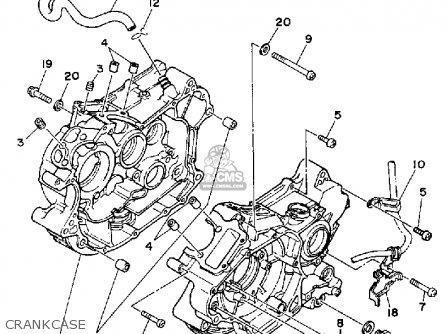 Yamaha Xv250 Route 66 1990 (l) Usa parts list partsmanual