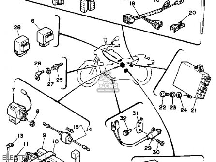 Xs650 Wiring Diagram For 1979. Xs650. Wiring Diagram