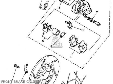Yamaha XV250C 1989 (K) CALIFORNIA parts lists and schematics