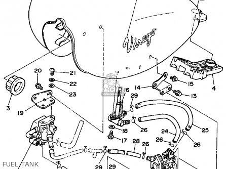 Yamaha Xv250c 1995 (s) California parts list partsmanual