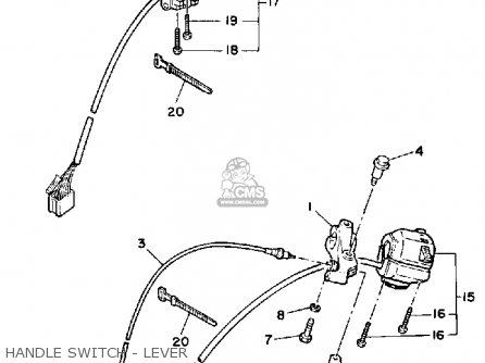 Yamaha Xv250c Route 66 1990 (l) California parts list