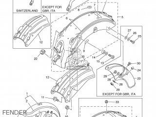 Yamaha XV250S 1998 3LSL PORTUGAL 283LS-300E1 parts lists