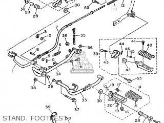 Yamaha Xv535 1990 3bm4 Switzerland 203bm-361e1 parts list