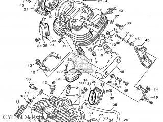 Yamaha XV535 1999 4YHA HOLLAND 294YH-300E1 parts lists and