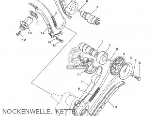 Yamaha Xv535 2001 4yhd Germany 114yh-332g1 parts list