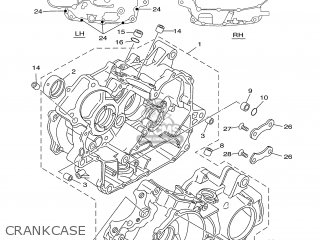 Yamaha Xv535 2001 4yhd Norway 114yh-300e1 parts list
