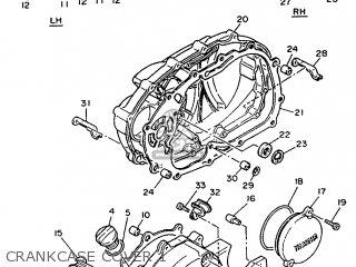 Yamaha Xv535 (20kw) 1992 3br6 Germany 223bt-332g1 parts