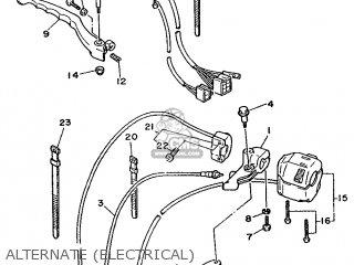 Yamaha Xv535 (up) 1992 3btj Europe 223bt-300e1 parts list