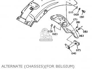 Yamaha Xv535 (up) 1996 4kuh Europe 264ku-300e2 parts list