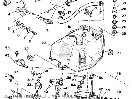 Yamaha XV535 VIRAGO 1990 (L) USA parts lists and schematics