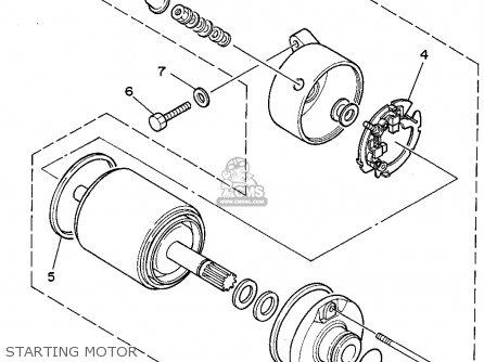1987 Yamaha Xv 535 Wiring Diagram Yamaha Schematics Wiring