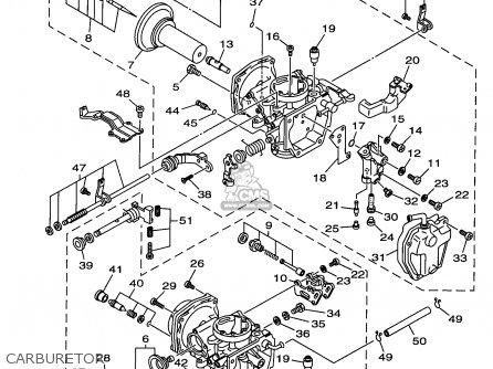 Yamaha Xv535k/kc 1998 parts list partsmanual partsfiche