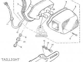 Yamaha XV535SE 1988 2YL FRANCE 282YL-351F1 parts lists and