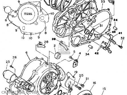 Yamaha Xv700 Ct 1986/1987 parts list partsmanual partsfiche