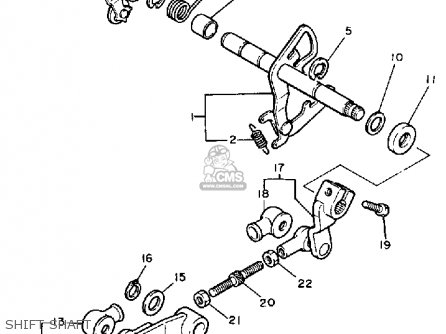 Yamaha XV700 VIRAGO 1984 (E) USA parts lists and schematics