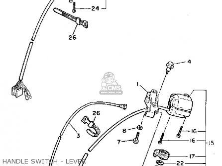 Yamaha Xv700sc Virago 1986 (g) California parts list