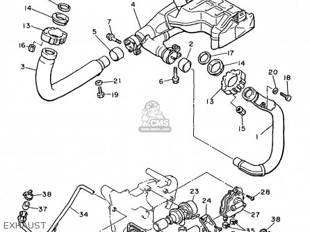 Yamaha Motorcycles 750 Wiring Diagram